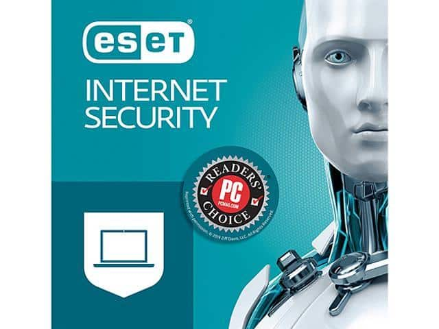 ESET Internet Security 2019, 5 PCs - Download, $27.99 - Newegg