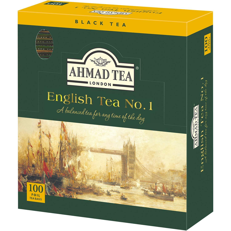 Ahmad Tea English Tea No.1 Enveloped Teabag, 100 Count, $10, amazon