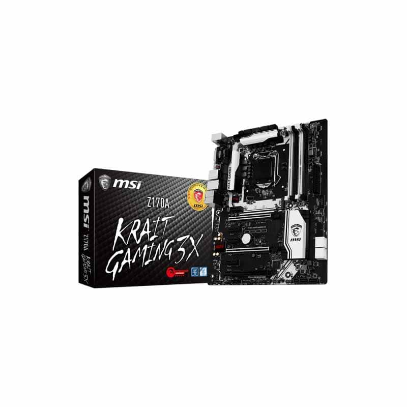 MSI Z170A Krait Gaming 3X $149.99 at Fry's Electronics on sale for $119.99 after $31 off with promo code
