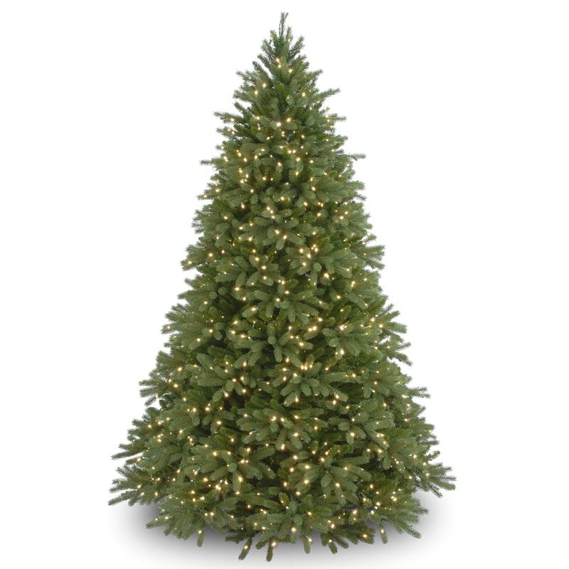 56% Off 7.5' Green Fir Artificial Christmas Tree with 1250 Clear Lights with Stand $367.95