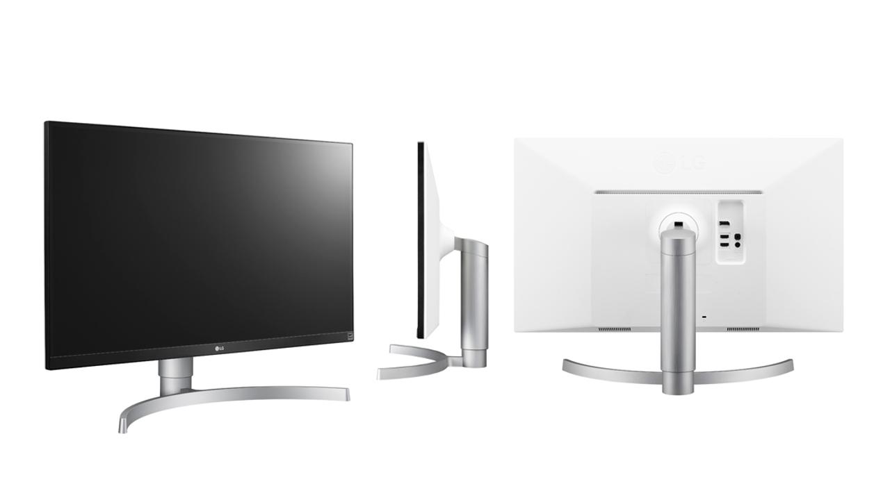 LG 27UK650-W 27& 4K UHD (3840x2160) IPS for $399