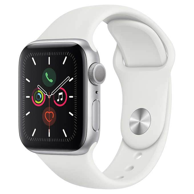 Apple Watch Series 5 GPS, Aluminum Case, With Sport Band $305 (40mm) or $335 (44mm) + Tax Shipped (5/20-6/14) Costco.com