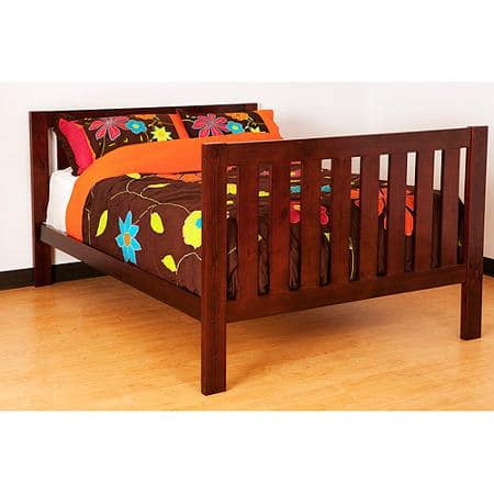 [50% off] ONLY $69: Canwood Full Bed - Solid Wood Construction
