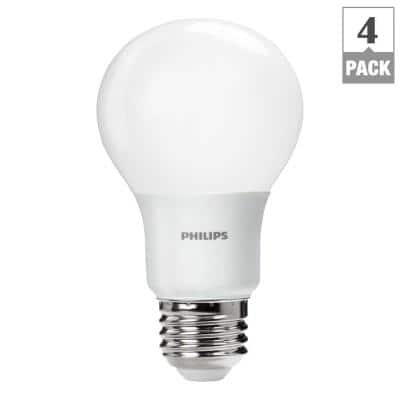 4-Pack Philips 60W Equivalent Daylight LED Bulbs $8.97 @ Home Depot
