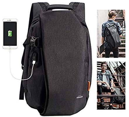 $19.59 Overmont Travel Laptop Backpack TSA Friendly Anti Theft Backpack with USB Charging Port Fits Under 17.3 inch Laptop @Amazon
