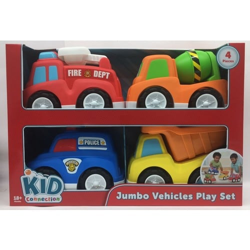 YMMV: In store clearance Kid Connection Kc Jumbo Trucks Play Set $5