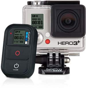 $100 off HERO3+ Black Edition or HERO3+ Silver Edition at gopro.com