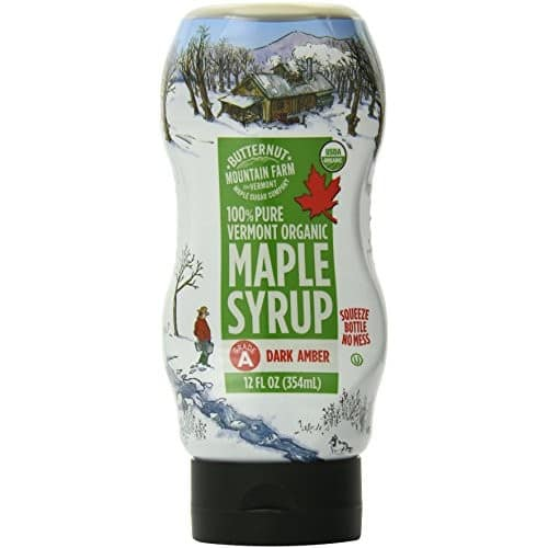Butternut Mountain Farm 100% Pure Organic Maple Syrup Grade A, Easy Squeeze 12 oz $3.92