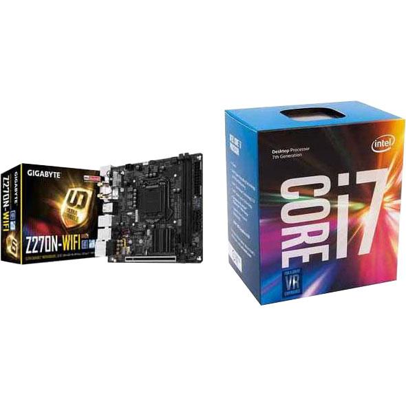 Intel Core i7-7700 Processor & Gigabyte Z270N-WiFi Motherboard $389
