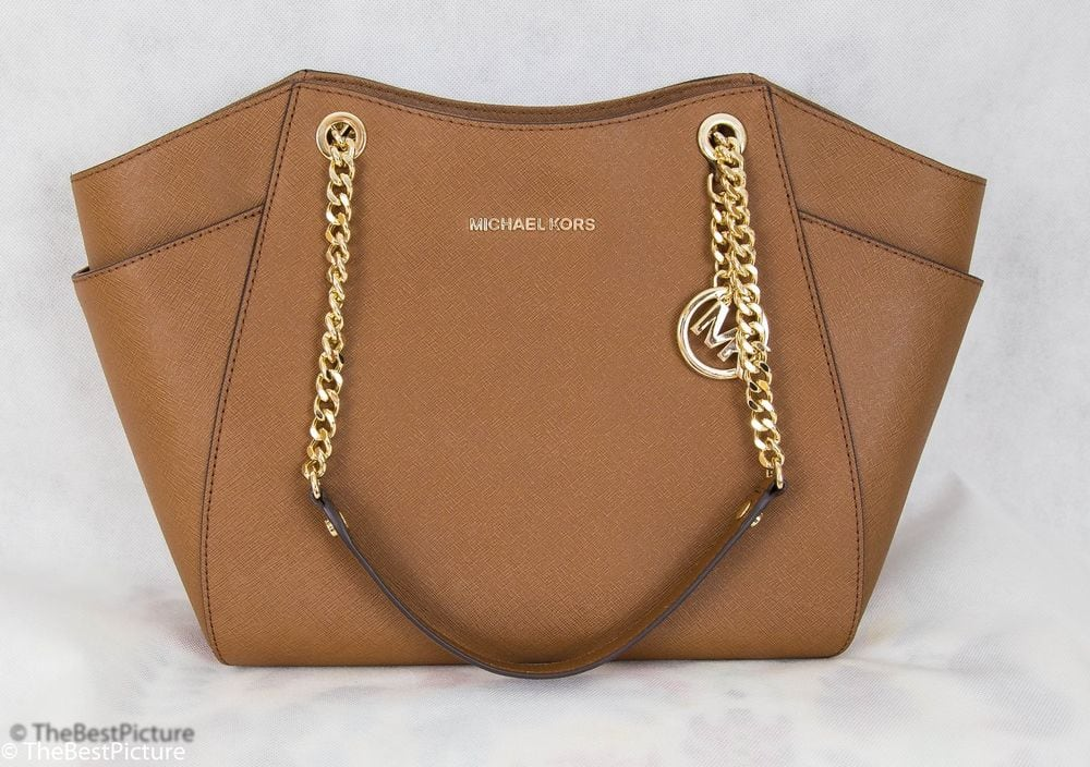 7db645061f87 MICHAEL Michael Kors Jet Set Travel Large Chain Shoulder Tote Brown $134.99  + shipping