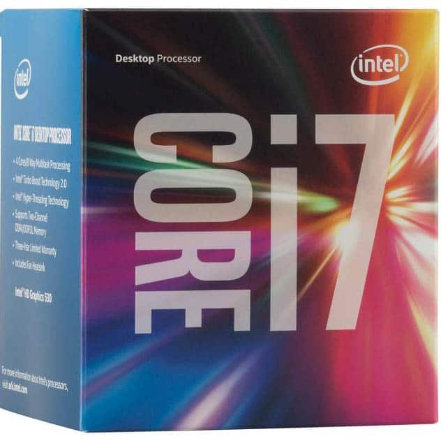 Intel I7 6700 $222 w/promo code - pick up only Fry's