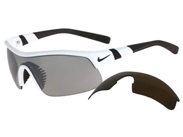 Nike Show X1 Men's Sunglasses w/ Interchangeable Lens EV0617 101 $33