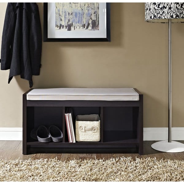 Claudia Storage Bench with Cushion $91.99 + fs