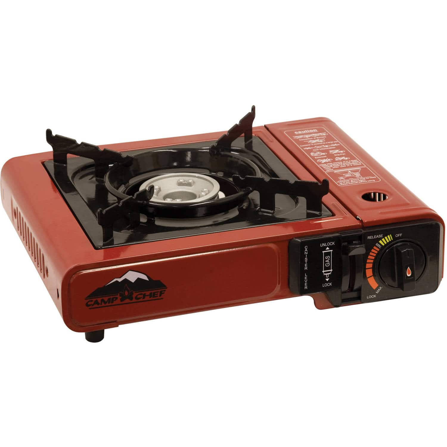 Camp Chef Butane Matchless Ignition Single Burner Camp Stove $17.31