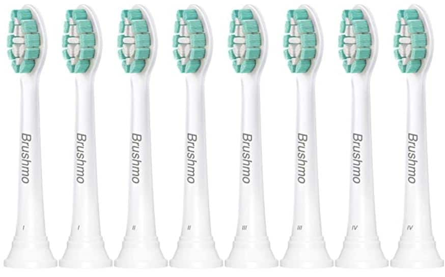 Generic Sonicare Replacelement Heads 18 Heads for $12.24 Brushmo Brand