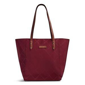 Vera Bradley Preppy Poly Ella Tote Bag $29.99 + fs