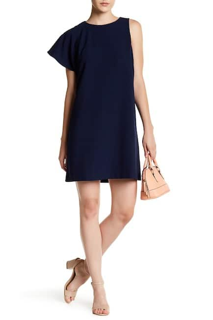 Chelsea28 Sleeveless One Shoulder Solid Dress $13.35