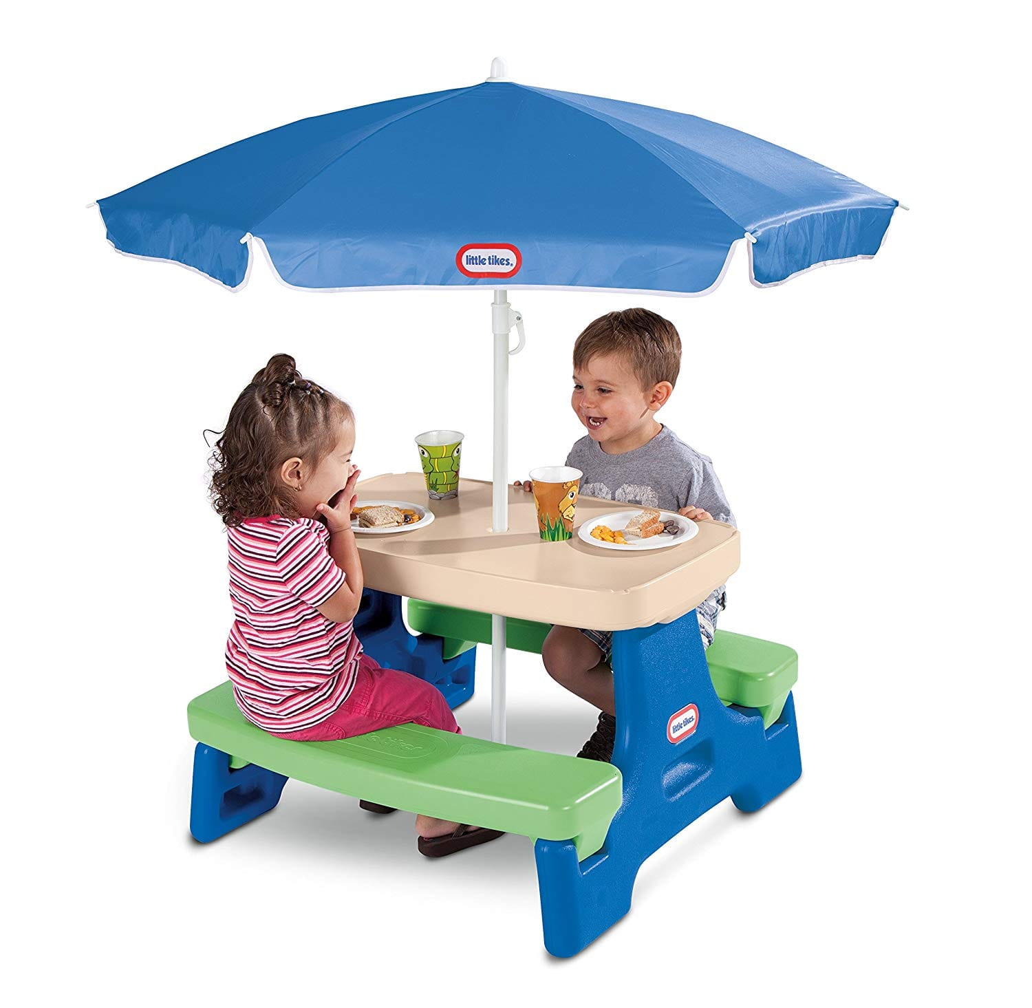 Little Tikes Easy Store Jr. Play Table with Umbrella $35