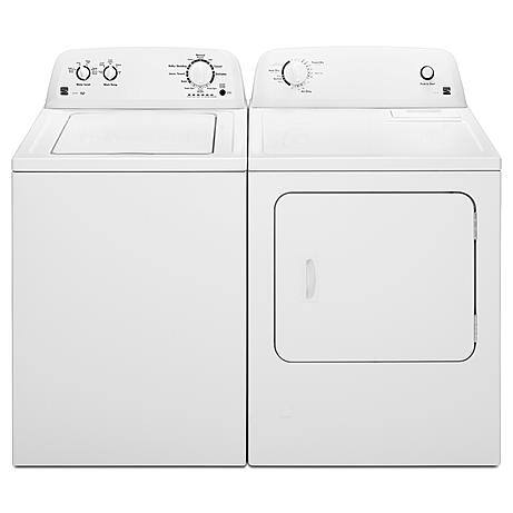 Kenmore 3.5 cu. ft. Top Load Washer & 6.5 cu. ft. Electric Dryer $485