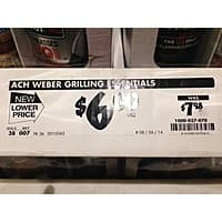 Home Depot Deal: Home Depot: Weber Grilling Pack $0.50 + tax YMMV