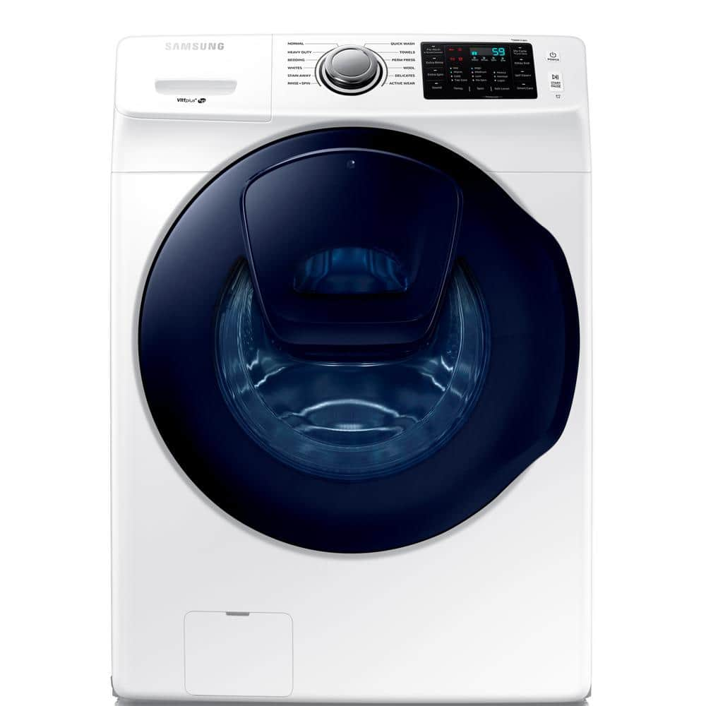 Samsung 4.5 cu. ft. High Efficiency Front Load Washer with AddWash Door in White  and Dryer @$549 each - Use Mover's Coupon for additional 10% off