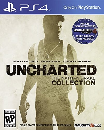 PS4 UNCHARTED: The Nathan Drake Collection $19.99 new AMZ prime day special 7/12