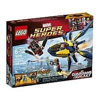 Amazon Deal: LEGO Superheroes 76019 Starblaster Showdown Building Set $12.59