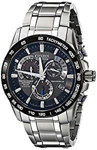 Citizen Eco-Drive Men's AT4010-50E Titanium Perpetual Chrono A-T Watch $260 on Amazon