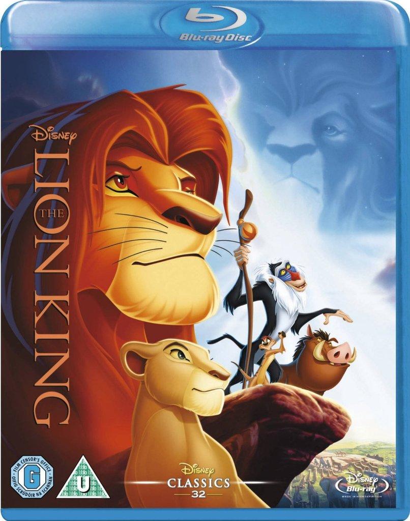 Lion King Blu-ray- $12.99+FS