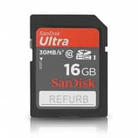A4C Deal: SanDisk Ultra 16GB SDHC Class 10 Memory Card - 30MB/s Speed (Manufacturer Refurbished) For $7.95 + Free Shipping @ a4c.com