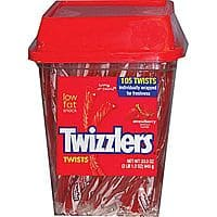 Staples Deal: Twizzlers® Strawberry Flavored Twists Candy, 105 Pieces/Tub For $5.49 + Free ship w/ Staple's Rewards