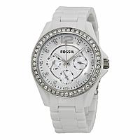 Timepiece Deal: Fossil ES3252 Riley Ladies Quartz Watch w/ Crystal Bezel For $47.99 + Free Shipping @ timepiece.com