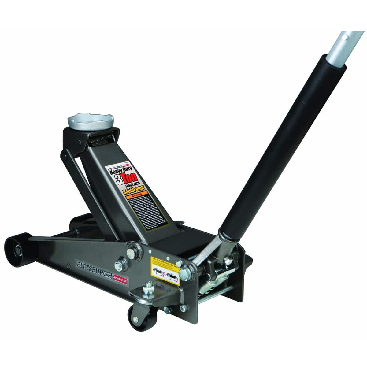 Heavy Duty 3 Ton Floor Jack w/ Rapid Pump - for $69.99 [harborfreight]