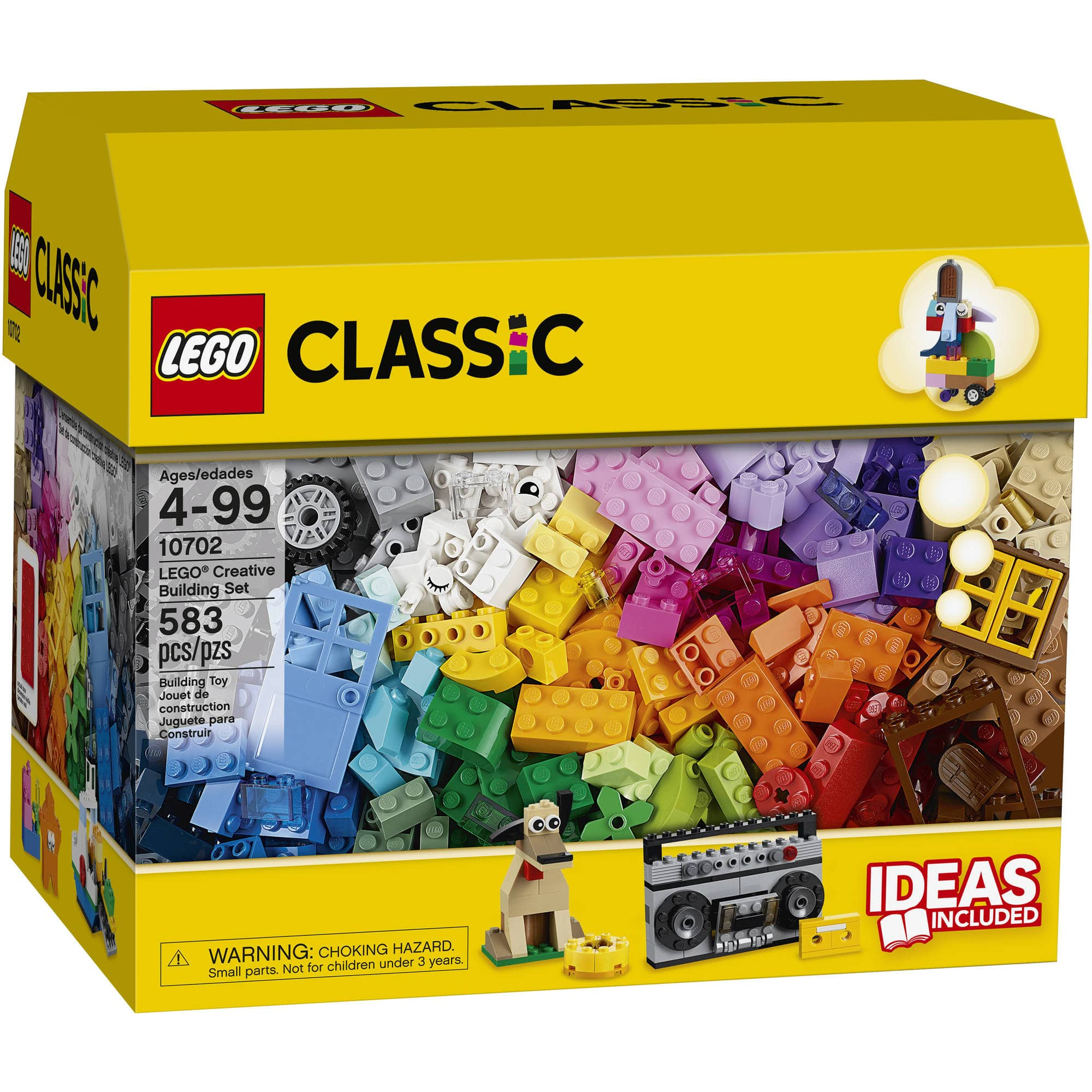 LEGO Classic Creative Building Set 10702 (583-piece) $13 or $10 BM (YMMV)