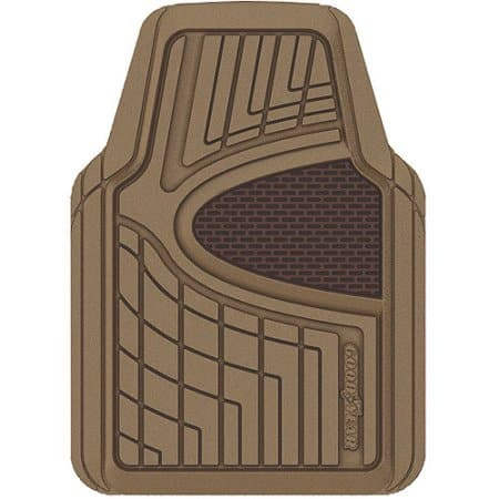 (OOS) Goodyear Rubber Floor Mats, 4pk for $6.83 in Tan color @ Walmart.com