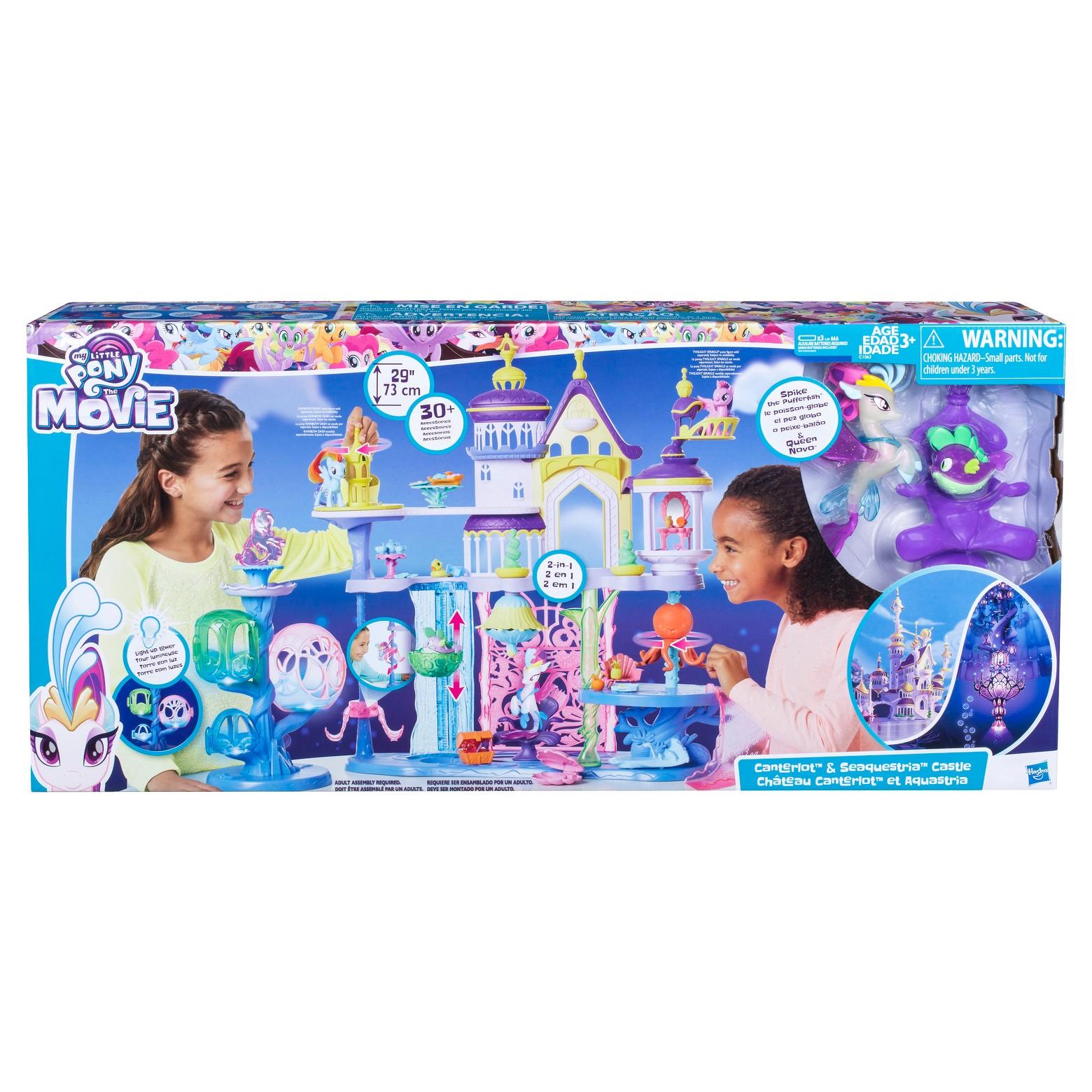 My Little Pony the Movie Canterlot & Seaquestria Castle $50 @ Walmart B&M YMMV