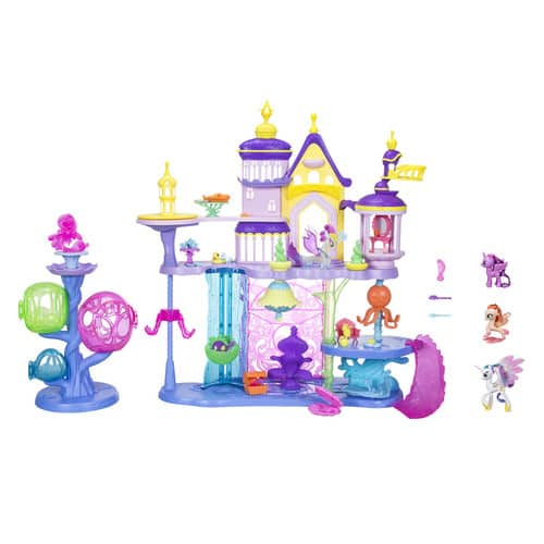 My Little Pony the Movie Canterlot & Seaquestria Castle with Friends EXCLUSIVE VALUE PACK $25 at Walmart B&M Strongly YMMV