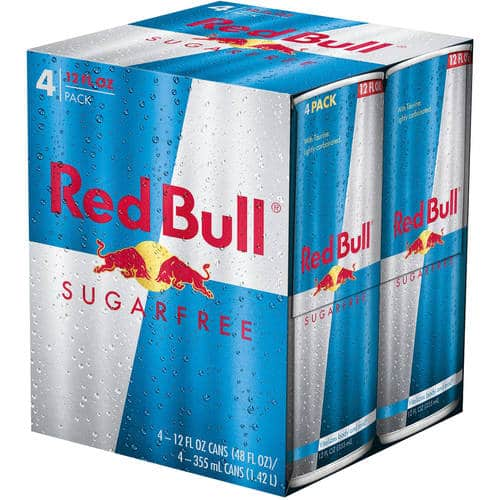 Red Bull 12oz 4 Pack - 2 for $5 BM YMMV