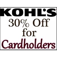 9f2b82035 Kohl s Kohl s Cardholders Coupon for Additional Savings ...