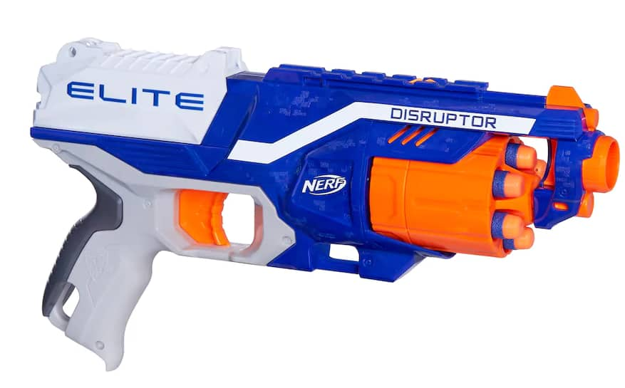 With a new and epic colour scheme, I'm sure the NIC is more than happy to  see this blaster back on store shelves. As to how much it costs, we don't  really ...