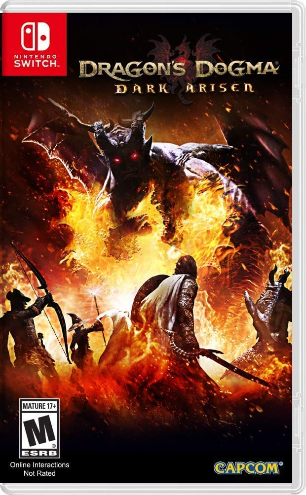 Dragon's Dogma Dark Arisen $28 - Nintendo Switch Amazon Pre-Order(Physical)