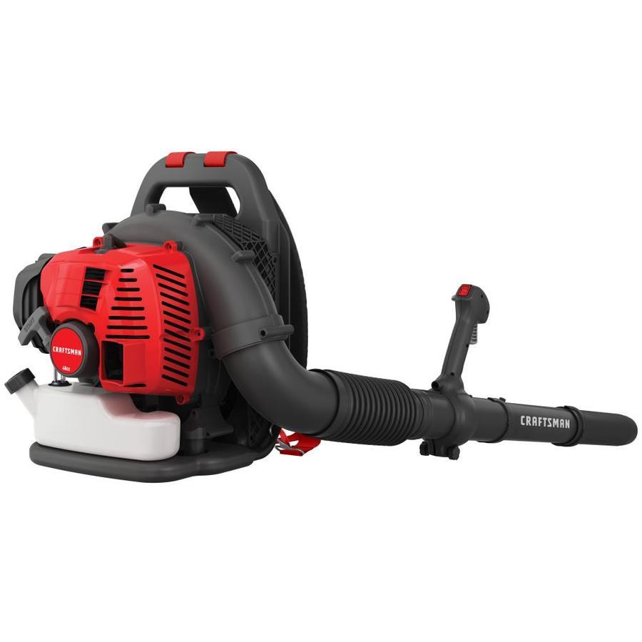 CRAFTSMAN 46-cu cm 2-Cycle 220-MPH 490-cfm Gas Backpack Leaf Blower $199