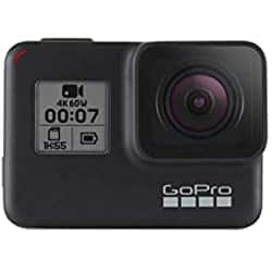 GoPro Hero7 Black Camera Bundle with Extra Battery (2 Batteries Total) and Dual Battery Charger $229.99