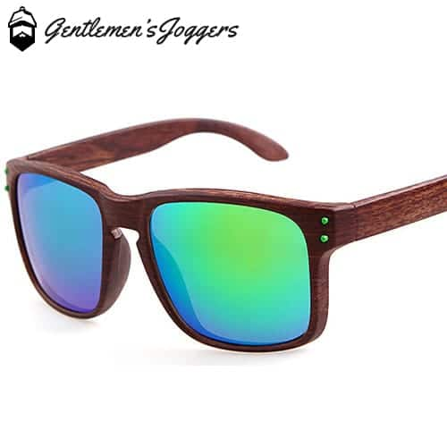 Gentlemens Joggers Wood Sunglasses, Various Colors/Styles FREE + Shipping (Normally $54.99)