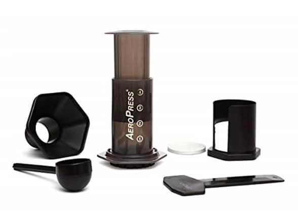 AeroPress Coffee Maker $17.99 with free shipping for Prime Customers