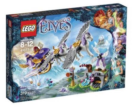 LEGO Elves 41077 Aira's Pegasus Sleigh Building Set 41077- $19.99 on Amazon, FS with Prime