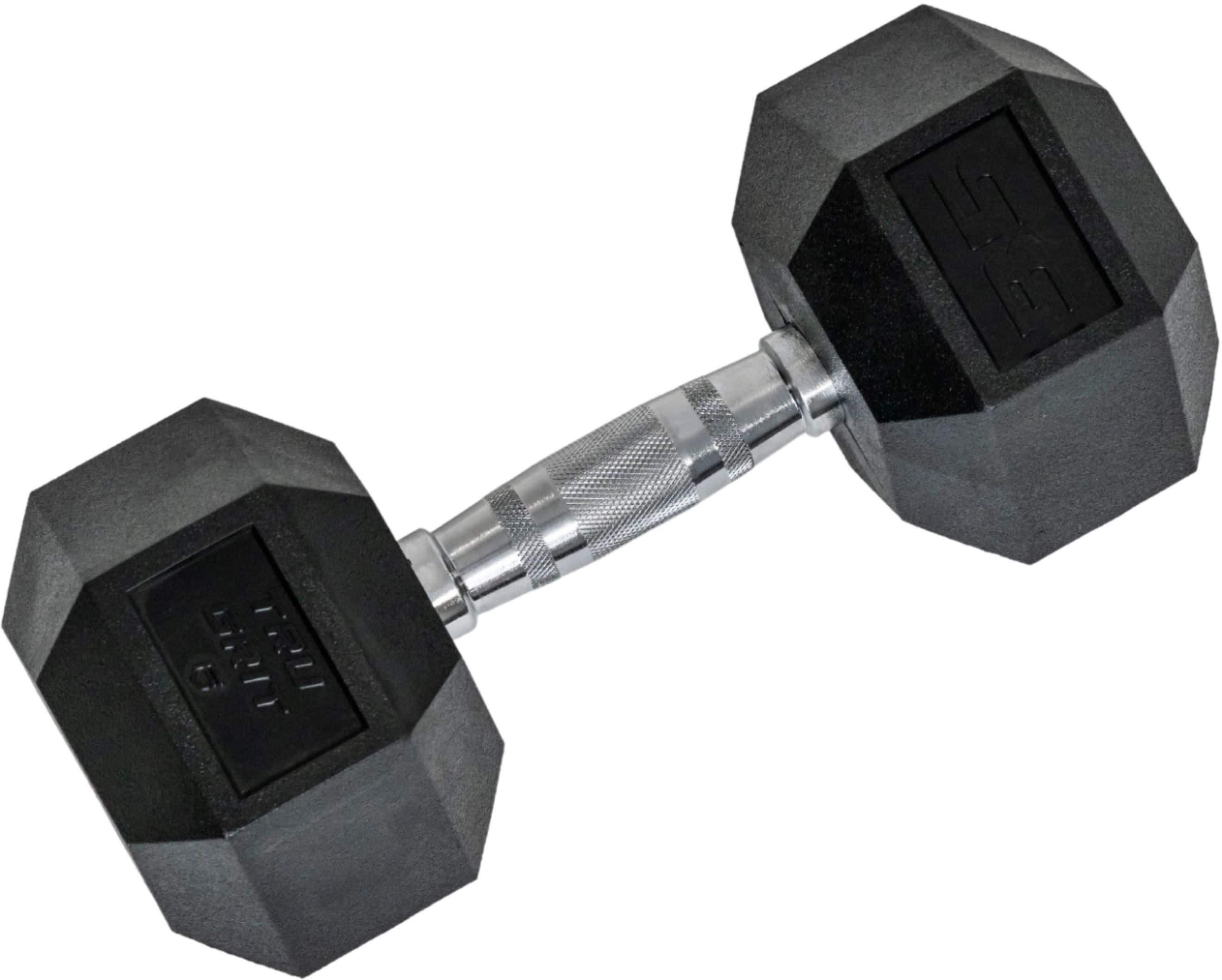 Tru Grit 35-lb Hex Elite Dumbbell and More Available - $45