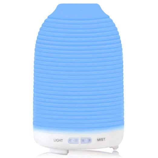 120ml Essential Oil Diffuser W/ 7 Changing Color LED Lights for $8.99 AC + FS @Amazon