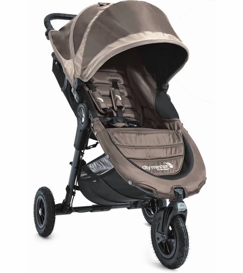 Baby Jogger City Mini GT Single 2016/2017 Stroller - Sand / Stone $201.59