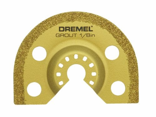 Dremel MM500 1/8-Inch Multi-Max Carbide Grout Blade [1] $7.33